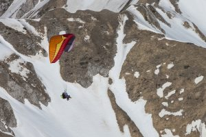 Volare in parapendio Monte Terminillo, Rieti