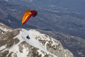 Volare in parapendio Monte Terminillo