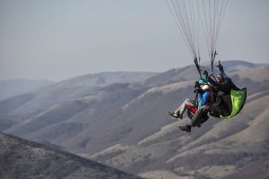 Freedom of flight, paragliding in Italy