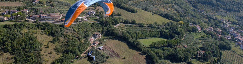 Paragliding Poggio Bustone
