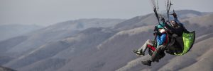 Volare in tandem, Monte Terminillo, Rieti, Lazio