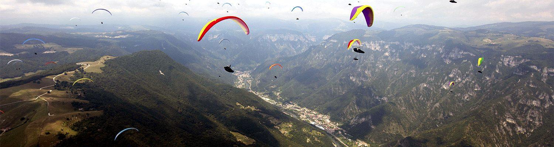 Paragliding course Feltre, Italy