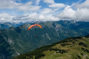 Paragliding trip Slovenia
