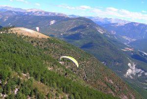 Parapente Saint-André-les-Alpes, launch site