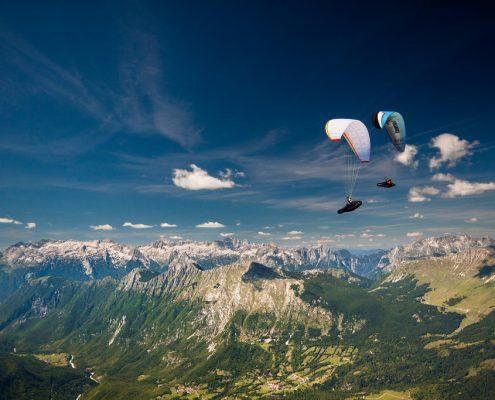 Paragliding Tolmin, Kieran Campbell
