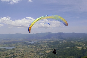 Cross Country guidance paragliding Italy