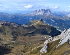 Paragliding Cross Country Guiding Dolomites Italy