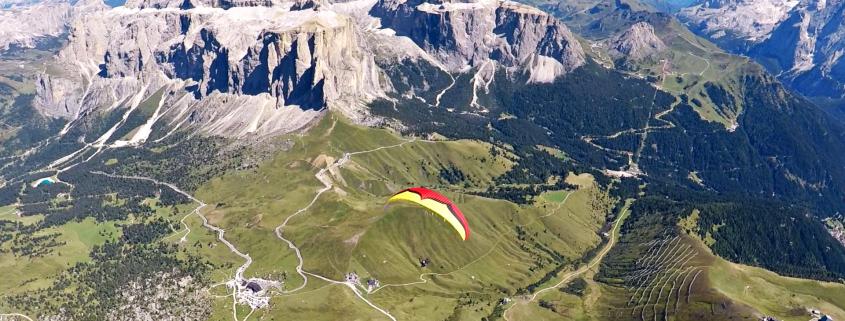 Dolomites XC Paragliding